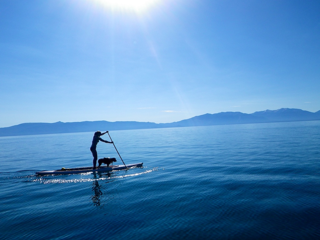 Stand Up Paddle Boarding Donner Summit Rentals